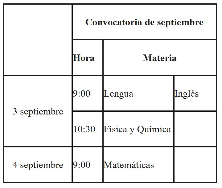 Calendario De Examenes.Arafo Calendario De Examenes Luther King